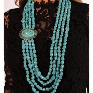 "Maverick ""zi -collection turquoise necklace"